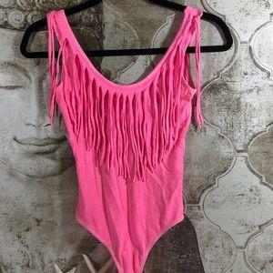 Guess pink bodysuit